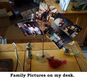Janet's Desk
